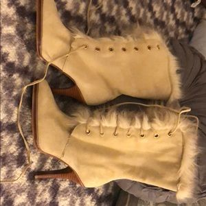 Brand new winter heel boots